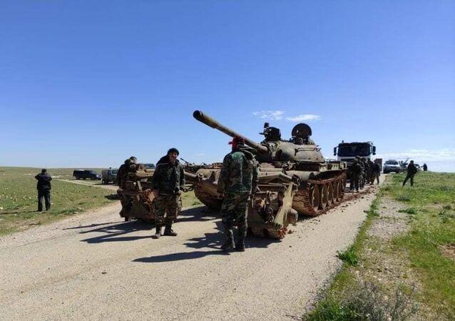 الجيش السوري يبدأ عملية التمشيط في ريف حماة