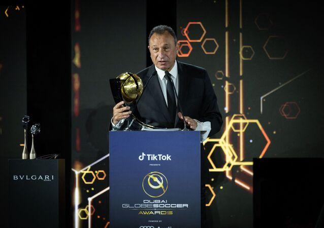 رئيس النادي الأهلي المصري، محمود الخطيب