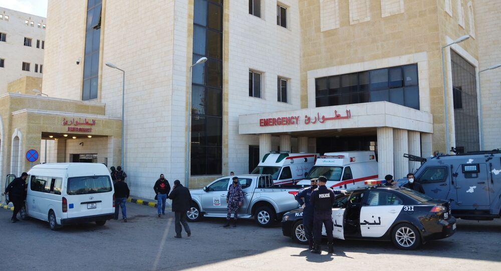 مستشفى السلط الحكومي في الأردن