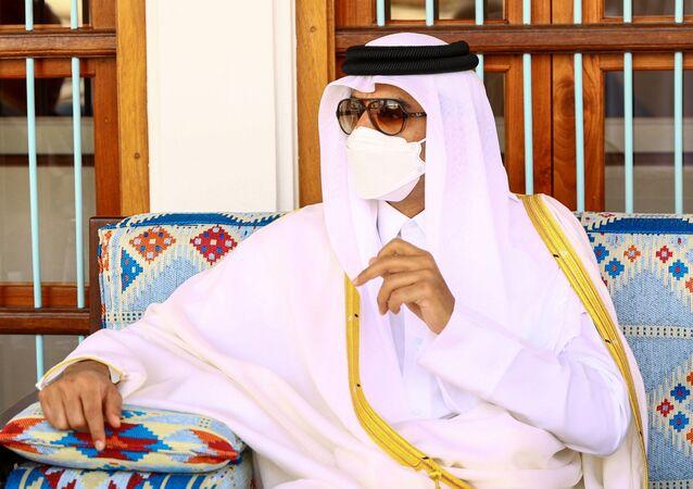 أمير قطر، الشيخ تميم بن حمد آل ثان