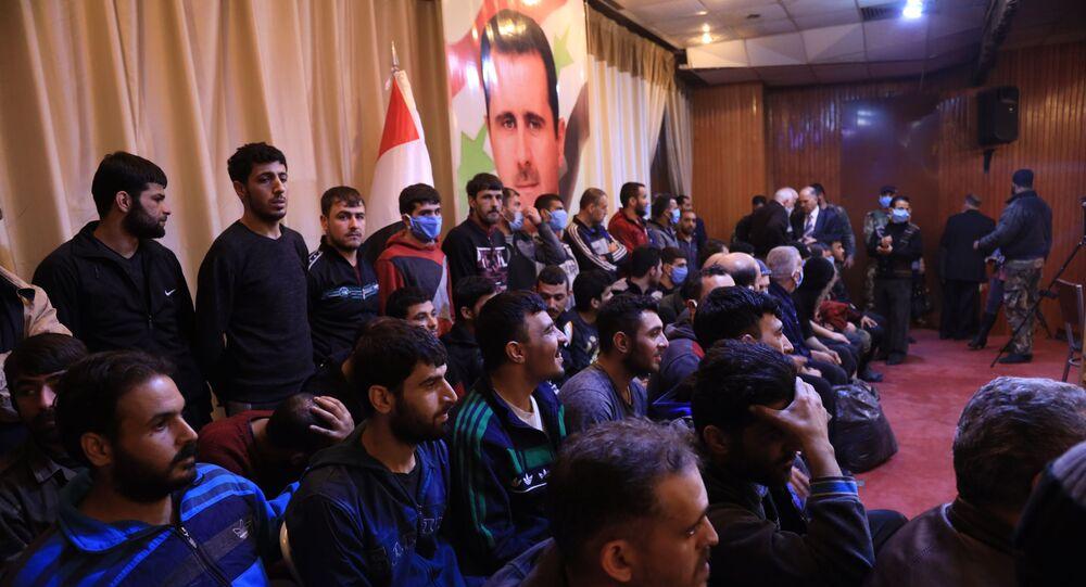 السلطات السورية تفرج عن مسلحين في محافظة درعا