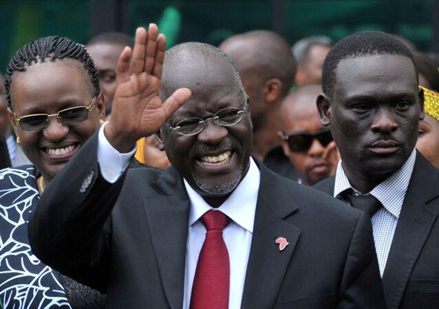 رئيس تنزانيا الراحل، جون ماغوفولي