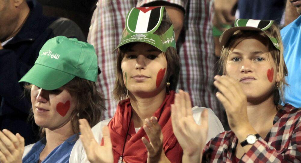 مشجعين أردنيين