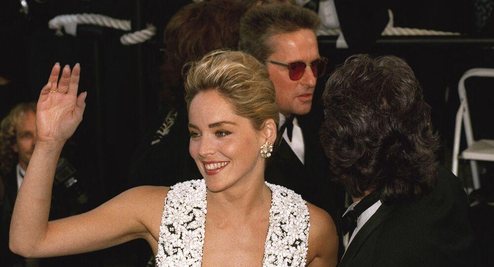 الممثلة الأمريكية، شارون ستون