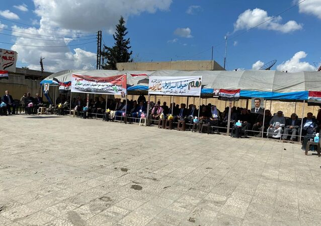 قبيلة طيء العربية: ندعم ترشح الأسد للانتخابات الرئاسية ونشكر مواقف روسيا العادلة