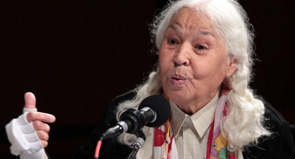 الدكتورة والكاتبة والأديبة  المصرية نوال السعداوي