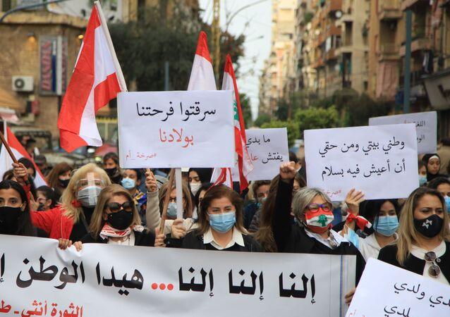 مسيرة لأمهات لبنانيات بمناسبة عيد الأم  صرخة أم من قلب موجوع