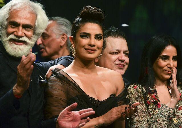الممثلة الهندية، بريانكا شوبرا
