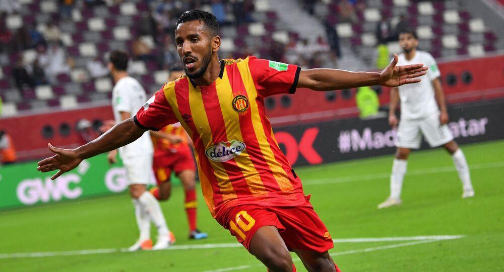 الليبي حمدو الهوني لاعب الترجي التونسي