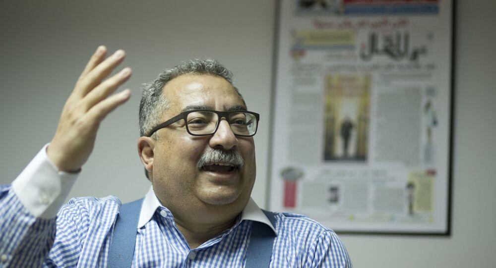 الإعلامي والصحفي المصري إبراهيم عيسى
