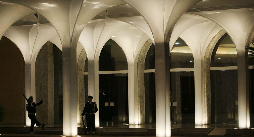 قصر بعبدا الرئاسي في لبنان