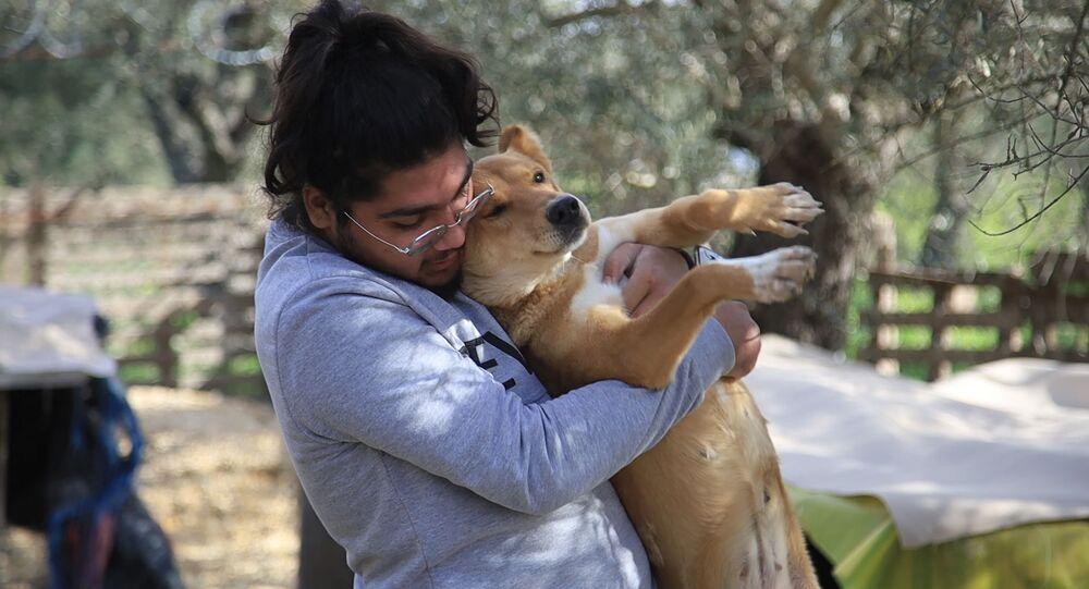 مأوى جمعية كارما - Carma  لكلاب الشوارع في طرابلس شمالي لبنان