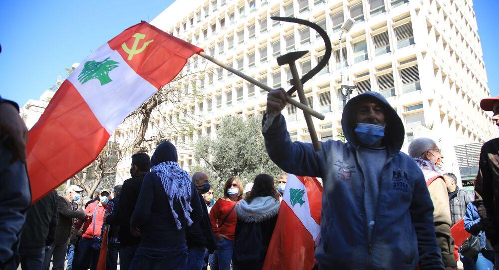 الحزب الشيوعي اللبناني يطلق الموجة الثانية للإنتفاضة الشعبية في لبنان