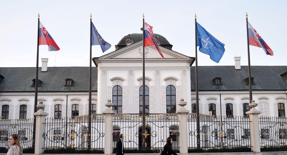 المقر الرئاسي في سلوفاكيا