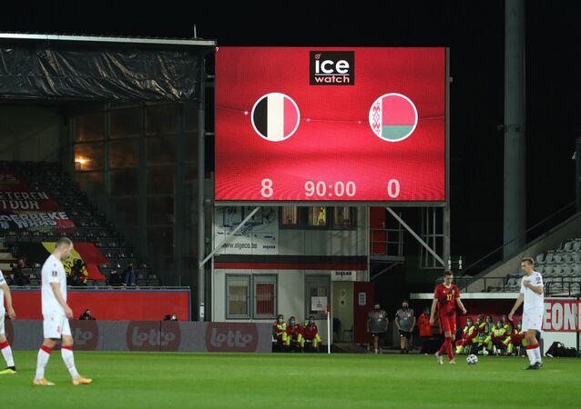 منتخب بلجيكا يفوز 8 صفر على بيلاروس