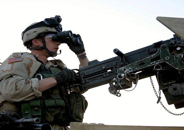 مدفع رشاش أمريكي طراز إم 2 عيار 12.7 ملم
