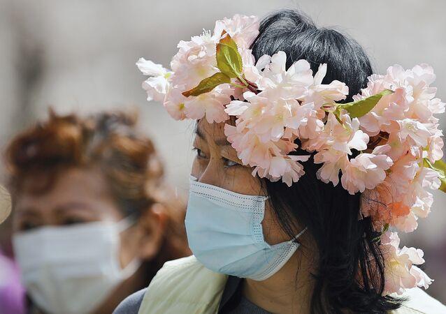 موسم تفتح أزهار شجر الكرز الشهيرة في هذا الوقت من العام، بكين، الصين 31 مارس 2021
