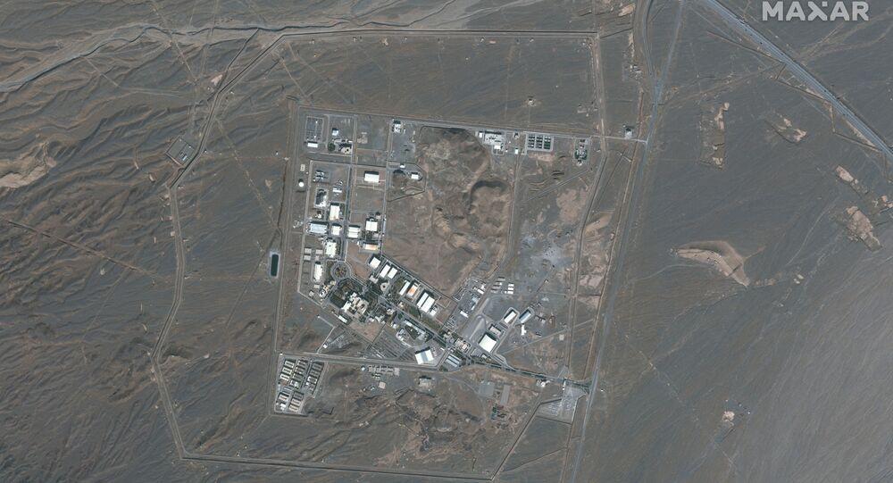 المحطة النووية الإيرانية في نطنز