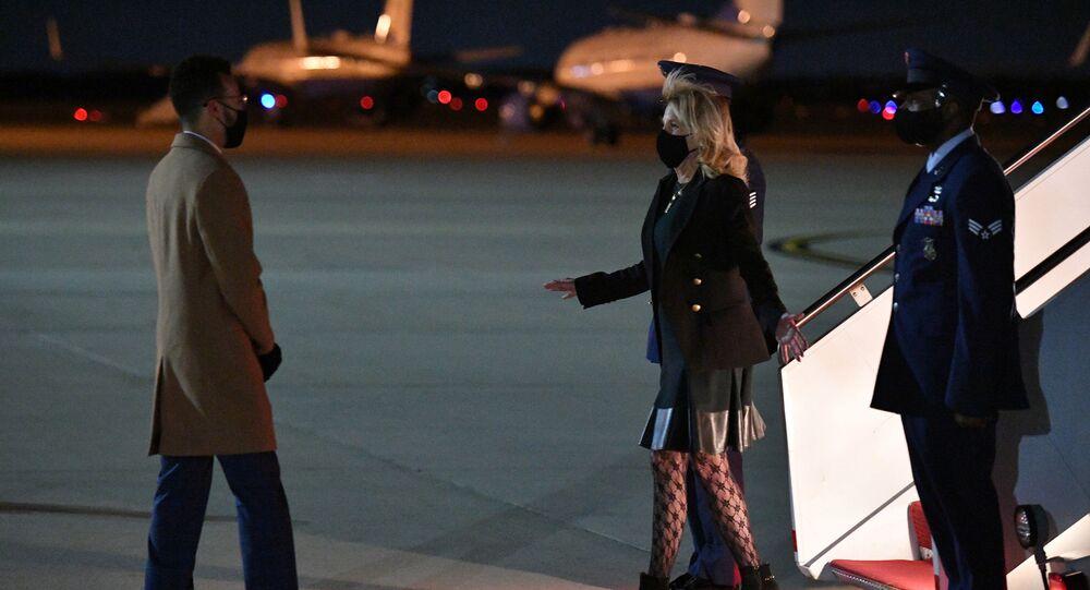 جيل بايدن زوجة الرئيس الأمريكي جو بايدن