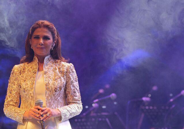 الفنانة اللبنانية، ماجدة الرومي