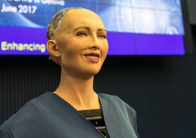 الروبوت الشهيرة صوفيا