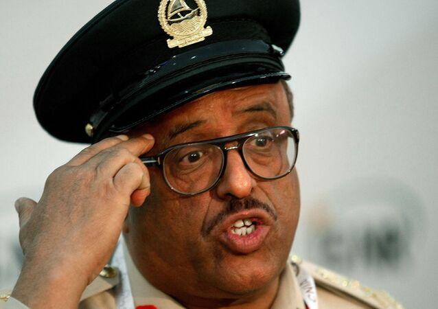 القائد السابق لشرطة دبي، الفريق ضاحي خلفان