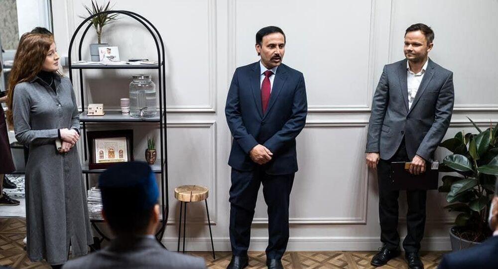 مركز قطر للغة العربية في موسكو، 4 أبريل/ نيسان 2021