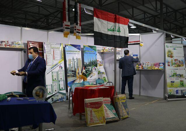 المعرض الاقتصادي الدولي في حلب، سوريا 5 أبريل 2021