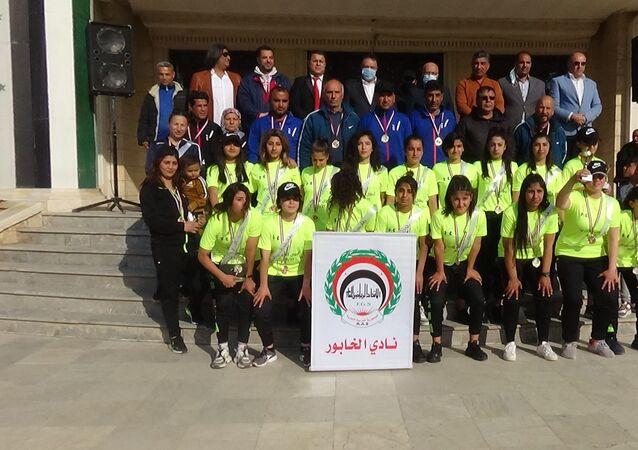 أحرزت سيدات نادي الخابور، من محافظة الحسكة، على لقب الدوري السوري لكرة القدم للسنة الثانية على التوالي، سوريا