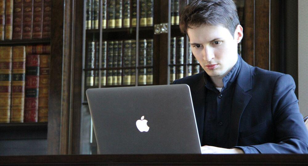 مؤسس تطبيق المراسلة الفورية تلغرام بافل دوروف