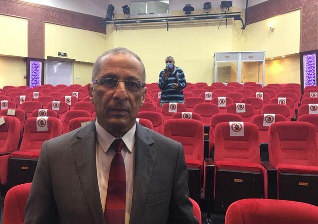 الدكتور محمد القوصي الرئيس التنفيذي لوكالة الفضاء المصرية