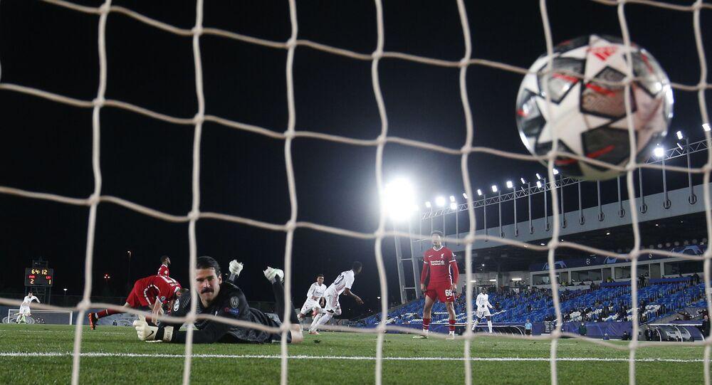 ريال مدريد وليفربول بدوري الأبطال