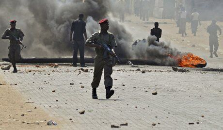 الجيش في موزمبيق
