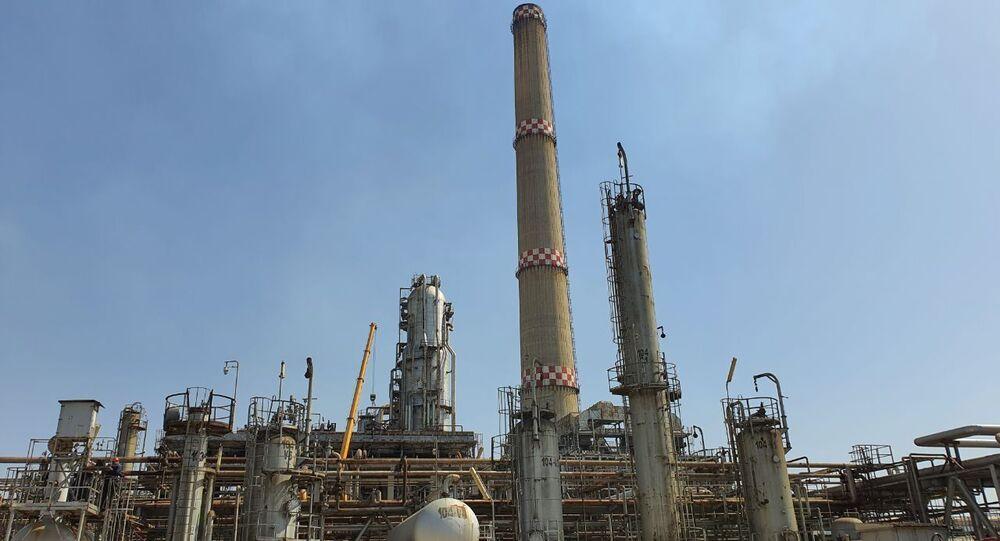 مصفاة النفط بانياس في سوريا