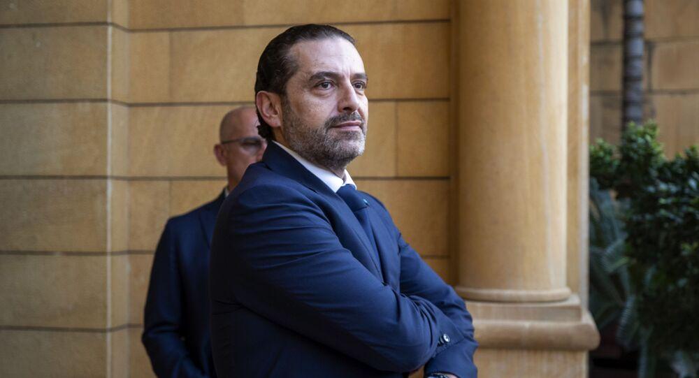 رئيس الحكومة اللبنانية سعد الحريري، بيروت، لبنان 7 أبري ل2021