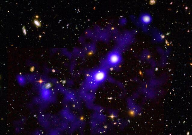 الكون صورة التقطتها وكالة ناسا الأمريكية