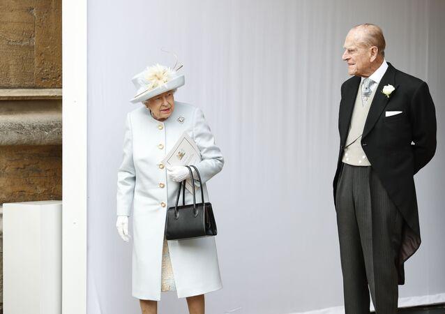 الأمير فيليب، زوج الملكة البريطانية إليزابيث الثانية، بريطانيا 2018