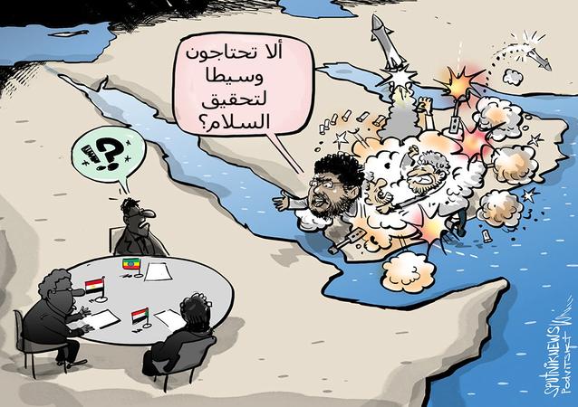 الحوثي يعرض وساطته لحل أزمة سد النهضة