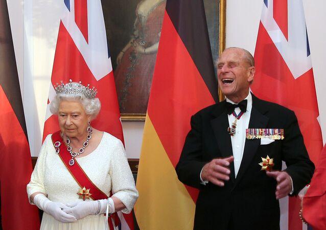 الأمير فيليب، زوج ملكة بريطانيا إليزابيث الثانية، برلين، ألمانيا 24  يونيو 2015