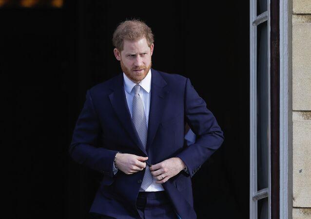 الأمير هاري في لندن