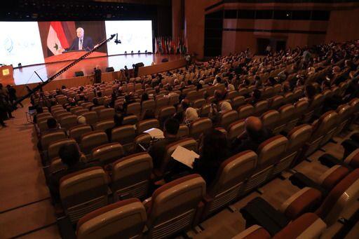مؤتمر سوريا والتحول الرقمي- الفرص والتحديات في قصر المؤتمرات بدمشق