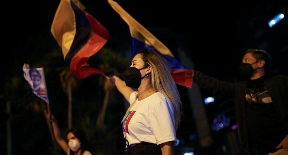 الجولة الثانية من الانتخابات الرئاسية في الإكوادور