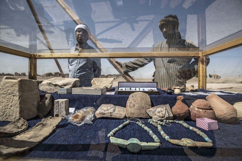 اكتشاف المدينة المفقودة، المدينة لذهبية، الأقصر، مصر 10 أبريل 2021