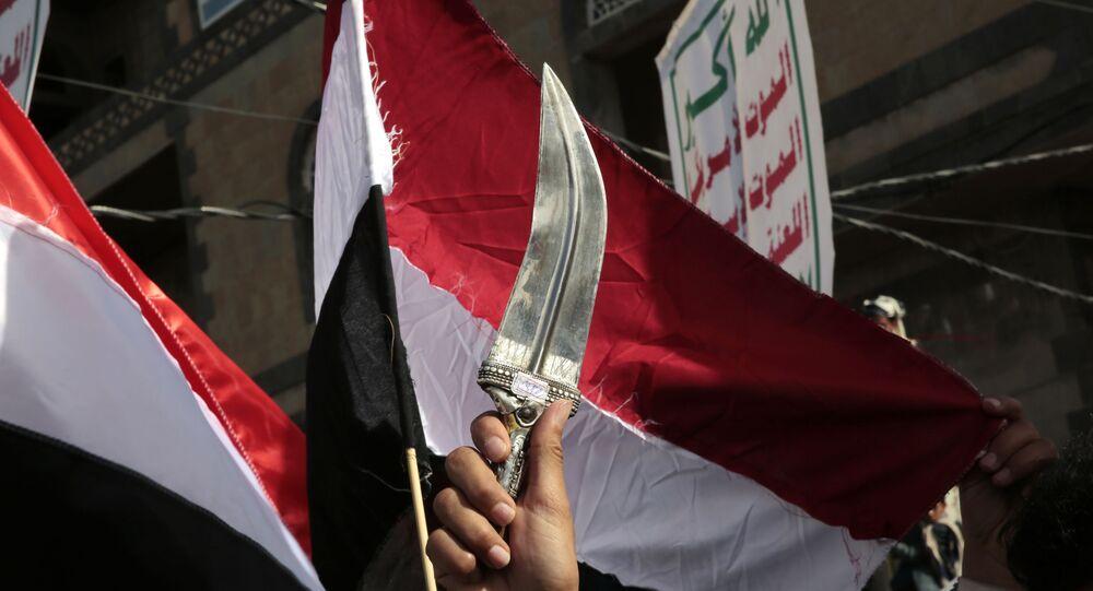 الحوثيون في صنعاء، اليمن مارس 2021