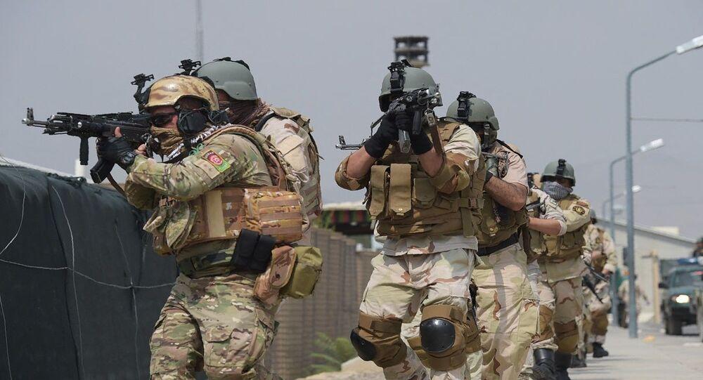 الجيش الأفغاني... جنود قوات خاصة يشاركون في تدريبات عسكرية