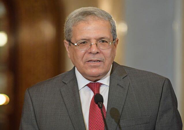 وزير خارجية تونس عثمان الجرندي