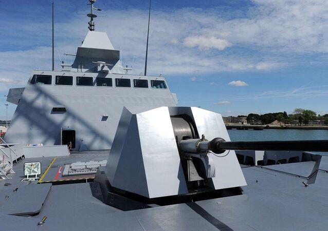 الفرقاطة تحيا مصر التابعة للقوات البحرية المصرية