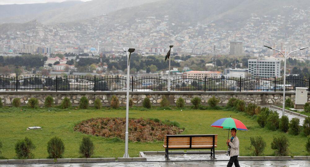 مدينة كابول، أفغانستان 15 أبريل 2021