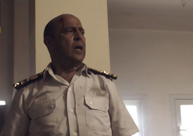 الفنان المصري أشرف عبد الباقي، في الحلقة الخامسة من مسلسل الاختيار، 17 أبريل/نيسان 2021