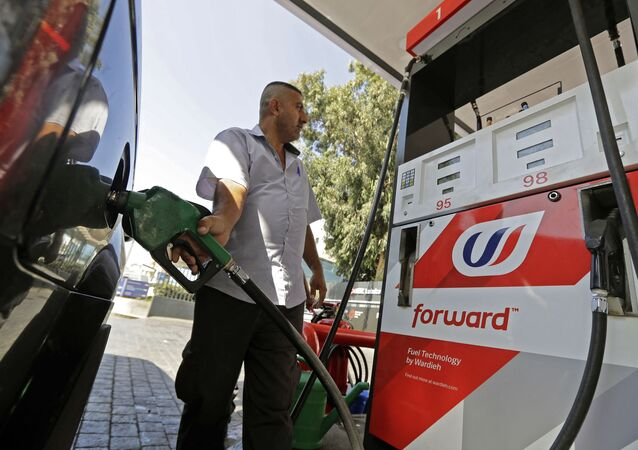 لبنان محطة وقود
